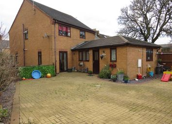 Thumbnail 4 bed detached house for sale in Main Street, Farcet, Peterborough