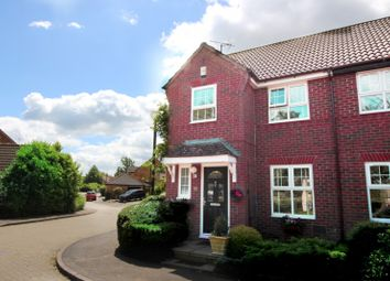 Thumbnail 3 bed semi-detached house for sale in Long Ayres, Coldecotte, Milton Keynes