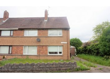 Thumbnail 3 bed semi-detached house for sale in Heol Y Felin, Caewern