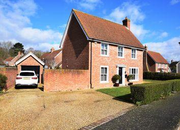 Thumbnail 3 bed detached house for sale in Garrod Approach, Melton, Woodbridge