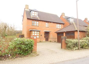 Thumbnail 5 bed detached house to rent in Faraday Drive, Shenley Lodge, Milton Keynes