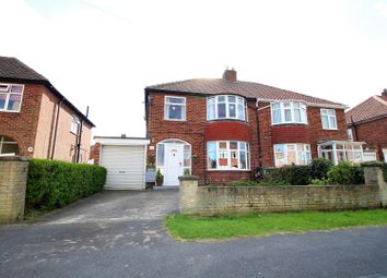 Thumbnail 4 bed semi-detached house for sale in Rawcliffe Croft, York