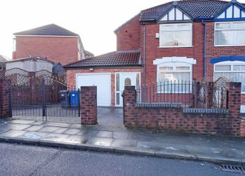 Thumbnail 3 bed semi-detached house to rent in Eastleigh Road, Prestwich, Manchester