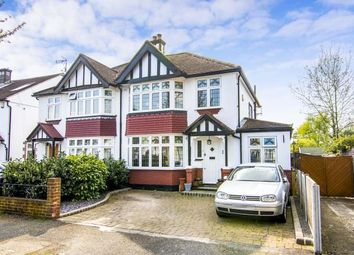 Thumbnail 4 bed semi-detached house for sale in Little Gaynes Gardens, Upminster