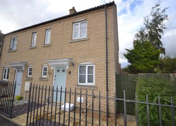 Thumbnail 2 bedroom end terrace house to rent in Columbine Road, Ely