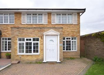 Thumbnail 3 bed semi-detached house for sale in Wheatfield Close, Maidenhead, Berkshire
