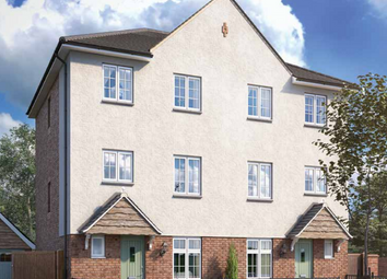 Thumbnail 4 bedroom town house for sale in Cae St Fagans At Plasdŵr, Pentrebane Road, Cardiff