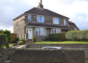 Thumbnail 2 bed semi-detached house for sale in Vale Grove, Queensbury, Bradford