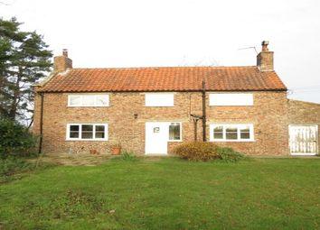 Thumbnail 3 bed detached house to rent in Ryton Rigg Road, Ryton, Malton