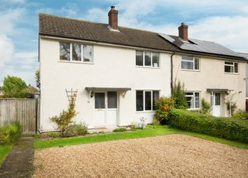 Thumbnail 3 bed semi-detached house for sale in Mill Lane, Bassingbourn, Royston