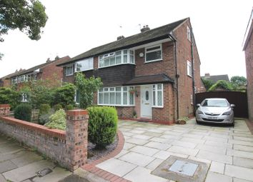 Thumbnail 3 bedroom semi-detached house for sale in Woodsend Road, Urmston, Manchester
