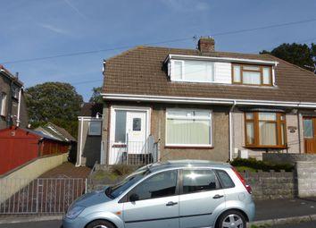 Thumbnail 2 bedroom semi-detached bungalow for sale in Beverley Gardens, Ravenhill, Swansea