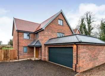 Thumbnail 4 bed detached house for sale in Low Street, Hardingham, Norfolk