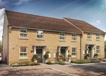 "Thumbnail 3 bedroom terraced house for sale in ""Ashurst"" at Briggington, Leighton Buzzard"