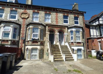 Thumbnail 1 bed maisonette to rent in Folkestone Road, Dover