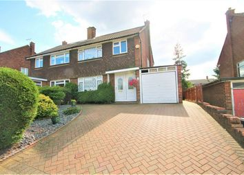 Thumbnail 3 bed semi-detached house for sale in Harvest Road, Bushey, Hertfordshire