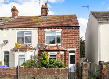 Thumbnail 3 bedroom end terrace house for sale in Victoria Road, Lowestoft