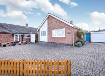 Thumbnail 3 bed detached bungalow for sale in Downing Drive, Evington, Leicester