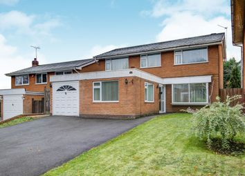 Thumbnail 4 bed detached house for sale in Compton Close, Southcrest, Redditch