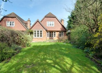 Thumbnail 4 bedroom detached house for sale in Village Road, Egham, Thorpe