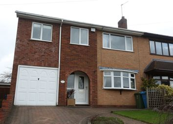 Thumbnail 4 bed semi-detached house for sale in Leveson Avenue, Cheslyn Hay, Walsall
