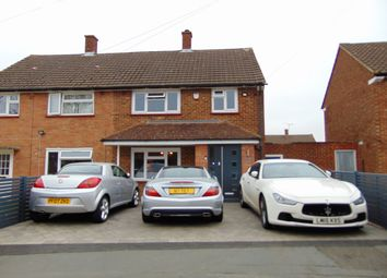 Thumbnail 3 bed semi-detached house for sale in Thursley Crescent, New Addington, Croydon