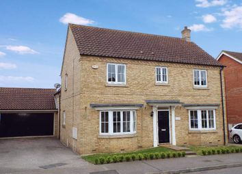 Thumbnail 4 bed detached house for sale in Briarwood Way, Wollaston, Northamptonshire