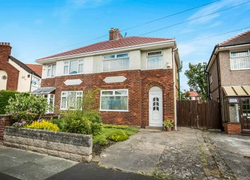 Thumbnail 3 bed semi-detached house for sale in Meadowbrook Road, Moreton, Wirral