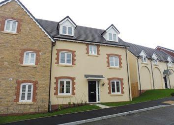 Thumbnail 4 bed semi-detached house for sale in Cyfarthfa Mews, Clwydyfagwyr, Merthyr Tydfil