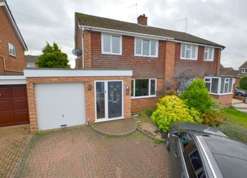 Thumbnail 3 bed semi-detached house for sale in Brackley Close, Kingsthorpe, Northampton