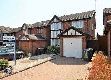 Thumbnail 4 bedroom detached house for sale in Tameton Close, Luton