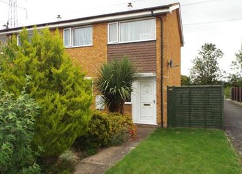 Thumbnail 3 bed end terrace house for sale in Therfield Walk, Houghton Regis, Dunstable, Bedfordshire