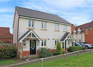 Thumbnail 2 bed semi-detached house for sale in Wheatsheaf Close, Sindlesham, Wokingham, Berkshire