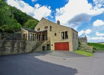 Thumbnail 5 bed detached house for sale in Mission View, Arrunden, Holmfirth