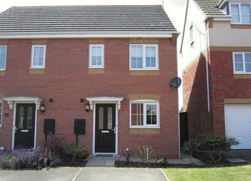 Thumbnail 2 bed semi-detached house for sale in Forsythia Close, Eliot Gardens, Bedworth