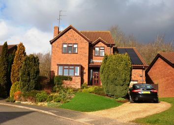 Thumbnail 4 bed detached house for sale in Ravenscroft, East Hunsbury, Northampton