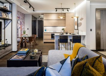 Thumbnail 2 bed flat for sale in Hewett Street, Shoreditch, London