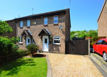 Thumbnail 2 bed semi-detached house for sale in Foxhill Drive, Glen Parva