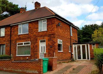 Thumbnail 3 bed semi-detached house for sale in Austin Street, Nottingham, Nottinghamshire