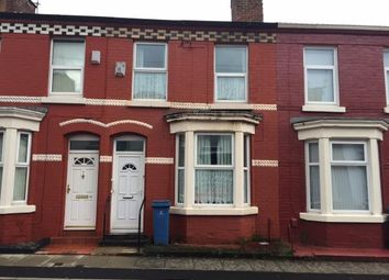 Thumbnail 3 bed terraced house for sale in Stevenson Street, Wavertree, Liverpool