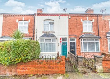 Thumbnail 2 bed terraced house for sale in Rose Road, Harborne, Birmingham