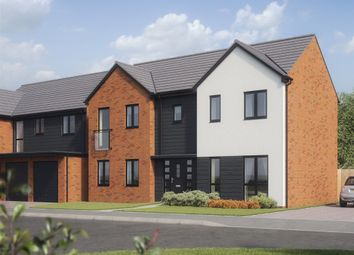 "Thumbnail 4 bed detached house for sale in ""The Bond"" at Church Road, Old St. Mellons, Cardiff"