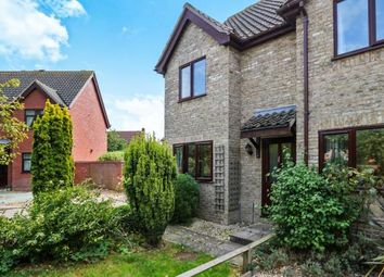 Thumbnail 2 bed semi-detached house for sale in Attleborough, Norwich