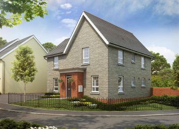 Thumbnail 4 bed detached house for sale in Plot 130, Saxon Fields, Cullompton