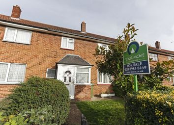 Thumbnail 3 bed terraced house for sale in Crabtree Avenue, Chadwell Heath, Romford