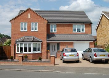 Thumbnail 4 bed detached house to rent in Wade Park Avenue, Marked Deeping