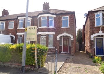 Thumbnail 3 bed end terrace house for sale in Murrayfield Road, Hull