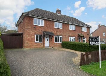 Thumbnail 3 bed semi-detached house for sale in St. Neots Road, Abbotsley, St. Neots