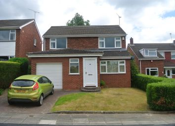 Thumbnail 4 bed detached house to rent in Lonscale Drive, Styvechale, Coventry