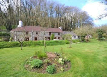Thumbnail 3 bed detached house for sale in Newbridge, Callington, Cornwall